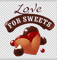 Sweet dessert biscuit vector