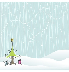 winter - christmas vector image