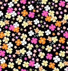 cutie seamless floral vector image vector image