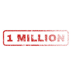 1 million rubber stamp vector image
