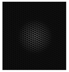 Background black circles vector