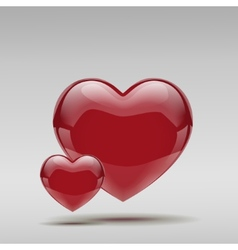 Big Red Heart vector image