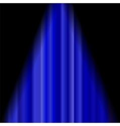 Cinema Closed Blue Curtain vector