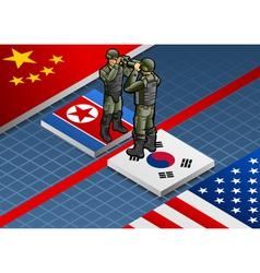 Korean crisis vector