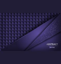 Luxurious abstract dark purple background design vector