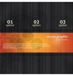 Modern Option Background vector