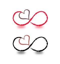symbols infinity vector image