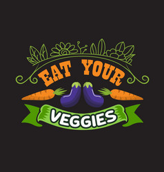 Vegan quote and saying good for design collections vector