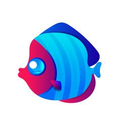 aquarium fish vector image