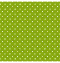 green textured polka dot seamless pattern vector image