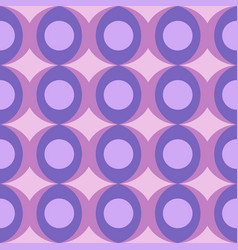 Abstract retro dotted flat seamless pattern with vector