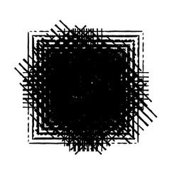 brushed stroke banner vector image