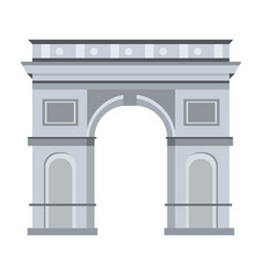 France arch triumph design vector