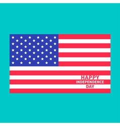 independence day us america 4th july center vector image