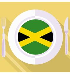 Kitchen of Jamaica vector