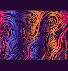 psychedelic vivid abstract waves decorative vector image