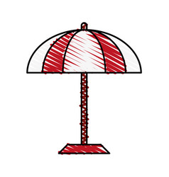 Umbrella icon image vector