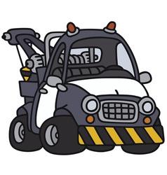 Breakdown service vehicle vector image