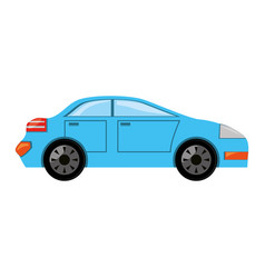 car vehicle isolated vector image