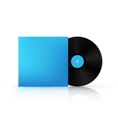 creative of realistic vinyl vector image