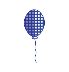 Silhouette balloon to decoration and design the vector