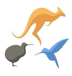 Australian animals vector image vector image