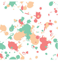 swatches and paint strokes seamless wallpaper vector image vector image