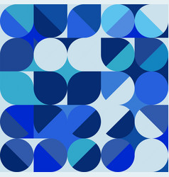 abstract trendy geometric background with vector image