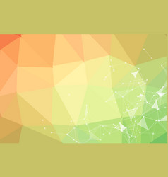 Abstract triangular futuristic background vector