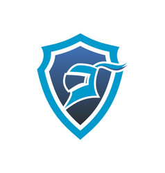 harness shield protection logo icon vector image