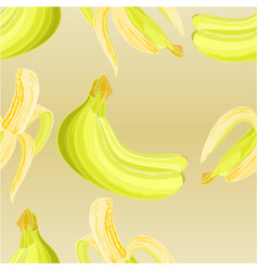 seamless texture three bananas vector image