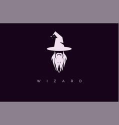 Wizard logo vector