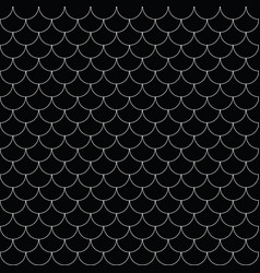 geometric fish scales chinese seamless vector image
