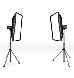 photographic lighting vector image vector image