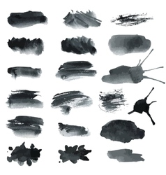 Gray blots vector image