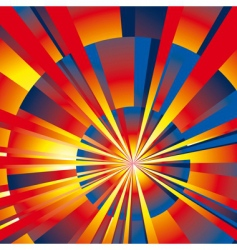 abstract rays background vector image vector image