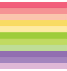 colorful horizontal lines seamless pattern vector image vector image