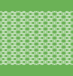 Abstract white pattern vector