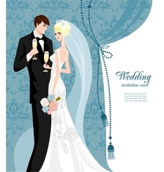 Elegant wedding vector