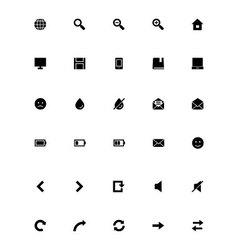 Mini icons 1 vector