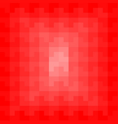 red geometric pattern background vector image