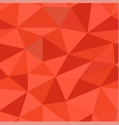 red polygonal 3d background seamless pattern vector image