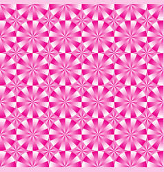 seamless geometrical pink and white pattern vector image