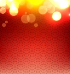 shiny glowing red background vector image
