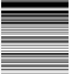 Straight horizontal lines pattern with random vector