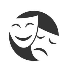Symbol theatre vector