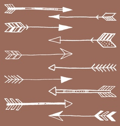 Tribal Arrows Doodle vector image vector image