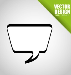 balloon icon de vector image vector image