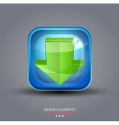 symbol icon download vector image vector image