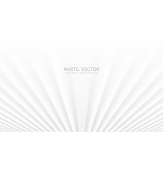 3d smooth blurred perspective lines white vector image